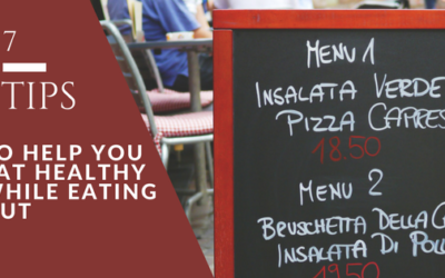 Tips for Healthy Eating While Eating Out