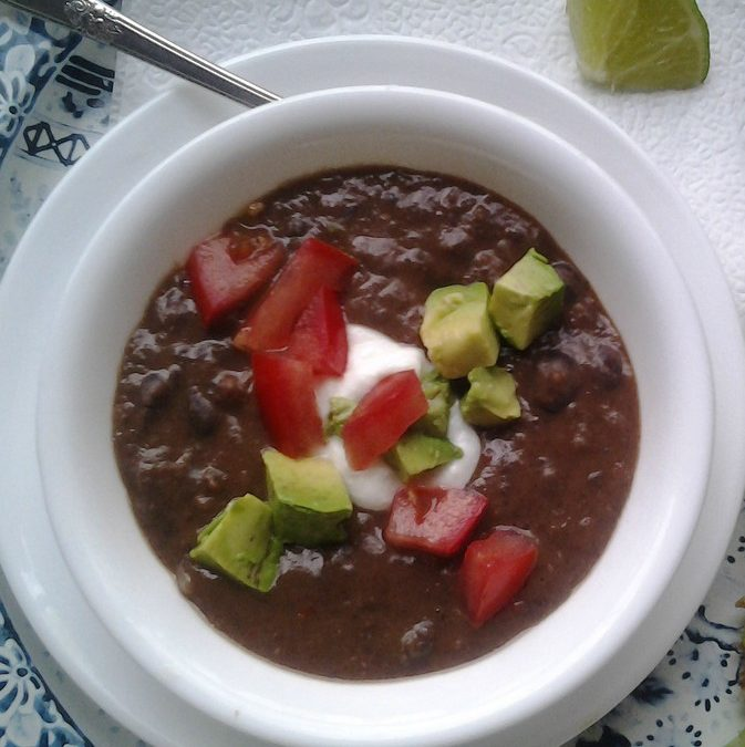 Cozy Black Bean Soup